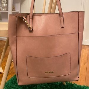 Steve Madden Blush Pink Tote Bag
